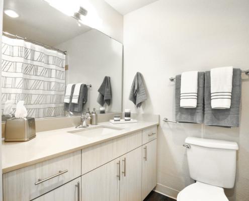 Bathroom - Starboard Apartments, Juanita Beach, Kirkland, Washington 98034