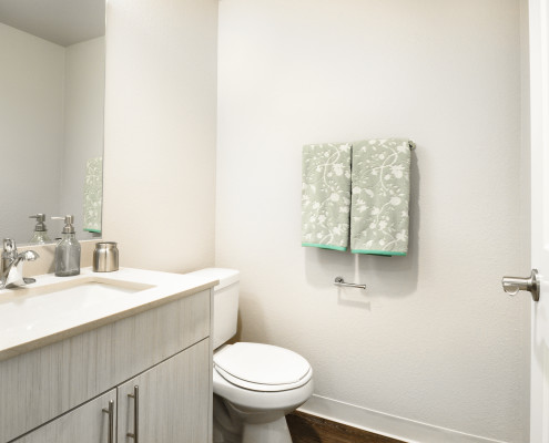 Bathroom - Starboard Apartments, Juanita Beach, Kirkland, Washington 98034