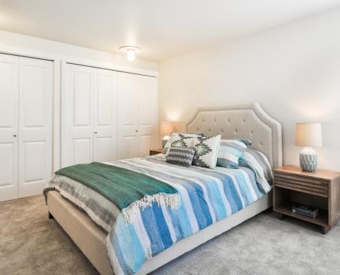 Bedroom - Starboard Apartments, Juanita Beach, Kirkland, Washington 98034