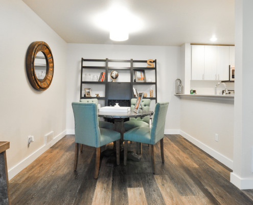 Dining Area - Starboard Apartments, Juanita Beach, Kirkland, Washington 98034