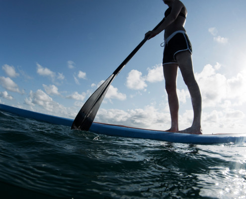 Paddle board on Lake Washington - Starboard Apartments, Juanita Beach, Kirkland, Washington 98034
