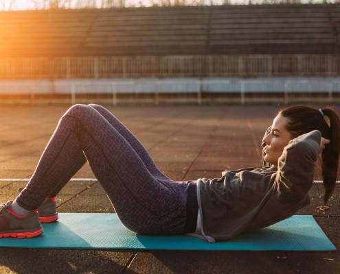 Morning workout at Juanita Beach Park - Starboard Apartments, Juanita Beach, Kirkland, Washington 98034