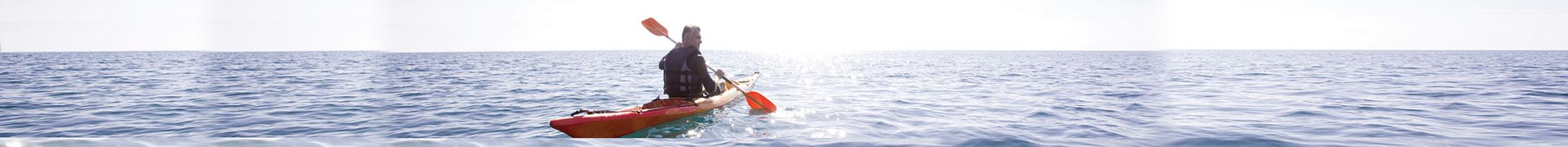 Kayak on Lake Washington - Starboard Apartments, Juanita Beach, Kirkland, Washington 98034